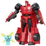 more details on Tranformers Robots in Disguise Power Hero Sideswipe.