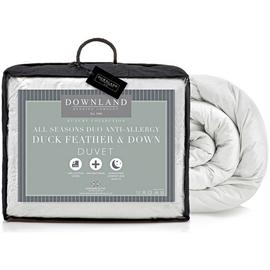 Downland Duck Feather Down All Seasons 15 Tog Duvet - King