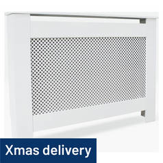 Argos Home Odell Medium Radiator Cover - White