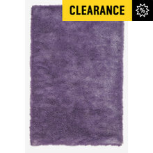 Collection Silky Shaggy Deep Pile Rug - 110x170cm - Heather