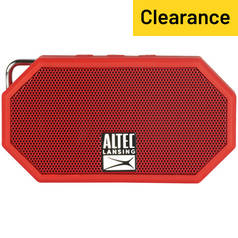 Mini H2O II Wireless Portable Speaker - Red