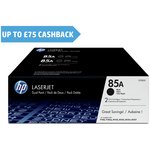 more details on HP 85A 2-pack Black Original LaserJet Toner (CE285AD)