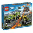 more details on LEGO City Volcano Exploration Base - 60124.