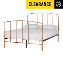 Argos Home Aurelie Double Bed Frame - Rose Gold