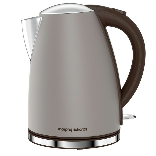 buy morphy richards 103004 accents ss pebble jug kettle at. Black Bedroom Furniture Sets. Home Design Ideas