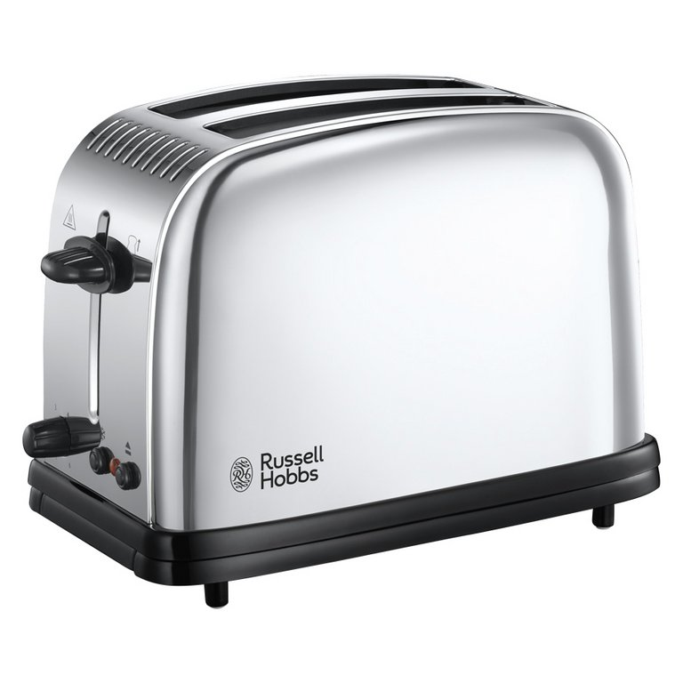 Buy Russell Hobbs 23310 Classic 2 Slice Toaster - St/Steel at ... | {Toaster 6}