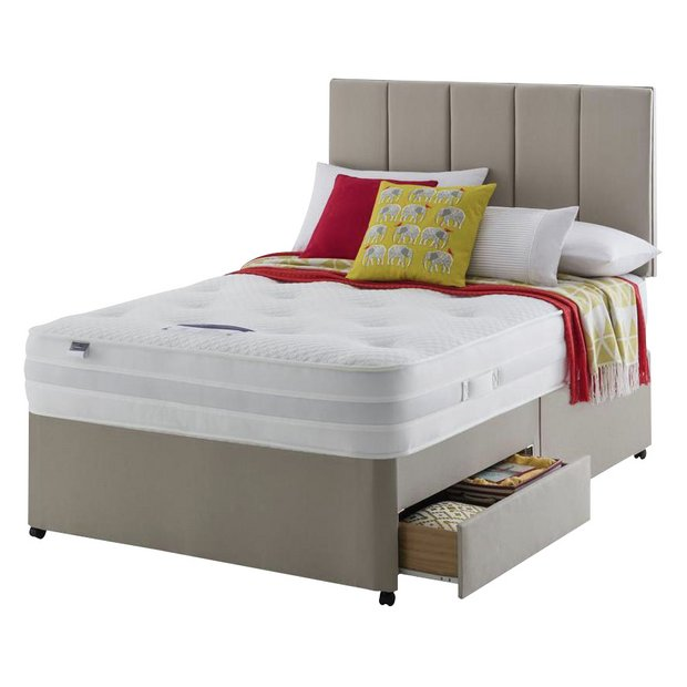 Buy Silentnight Walton 1200 Luxury Kingsize 2 Drw Divan At Your Online Shop For