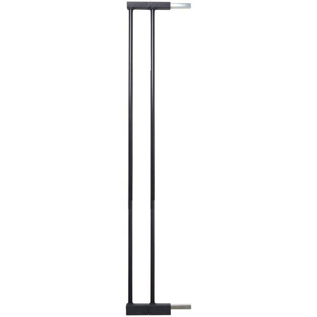buy scandinavian pet design extra tall safety gate black. Black Bedroom Furniture Sets. Home Design Ideas