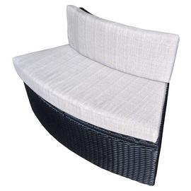 Canadian Spa Company Rattan Love Seat with Cushion