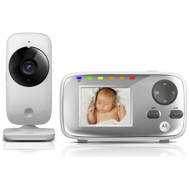 buy motorola mbp482 baby video monitor at your online shop for. Black Bedroom Furniture Sets. Home Design Ideas
