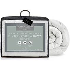 Downland Duck Feather Down All Seasons 15 Tog Duvet - S.King