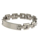 more details on Stainless Steel Leicester City Crest Bracelet