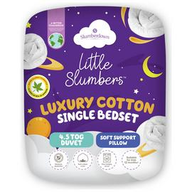 Slumberdown Fresh and Healthy 4.5 Tog Bed in a Bag - Single