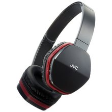JVC HA-SBT5 On-Ear Bluetooth Headphones - Red