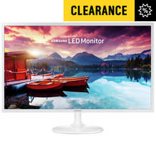 Samsung S32F351 32 Inch LED Monitor - White Best Price, Cheapest Prices