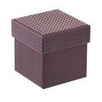 more details on Chocolate Brown Mini Gift Box with Internal Black Fitment.