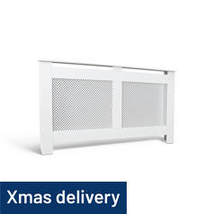 Argos Home Odell Large Radiator Cover - White