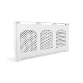 Argos Home Winterfold Large Radiator Cover - White