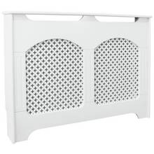 Collection Winterfold Medium Radiator Cover - White