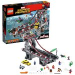 more details on LEGO Super Heroes Spider-Man Web Ultimate Bridge - 76057.