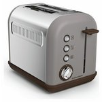 more details on Morphy Richards 222005 Accents Two Slice Toaster - Pebble.