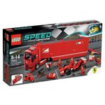 more details on LEGO Speed Champions F14 Ferrari Truck - 75913.