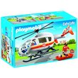 more details on Playmobil Flying Ambulance Playset - 6686.