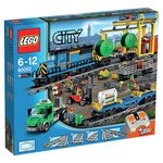 more details on LEGO City Trains Cargo Train - 60052.