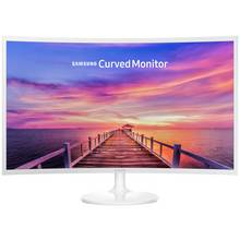 Samsung C32F391 32 Inch LED Curved Monitor - White