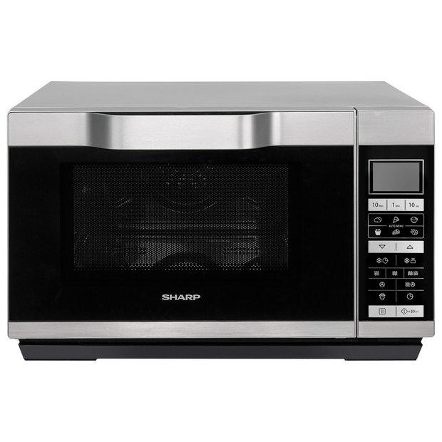 Buy Sharp 900w Combination Flatbed Microwave R861 Silver