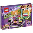 more details on LEGO Friends Amusement Park Bumper Cars - 41133.