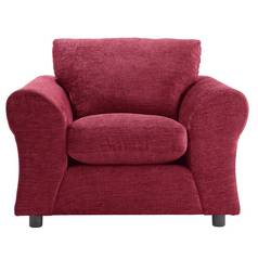 Argos Home New Clara Fabric Armchair - Red