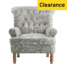 Argos Home Darcy Fabric Armchair - Floral
