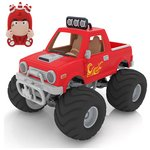 more details on Oddbods Action Vehicles Assorted.