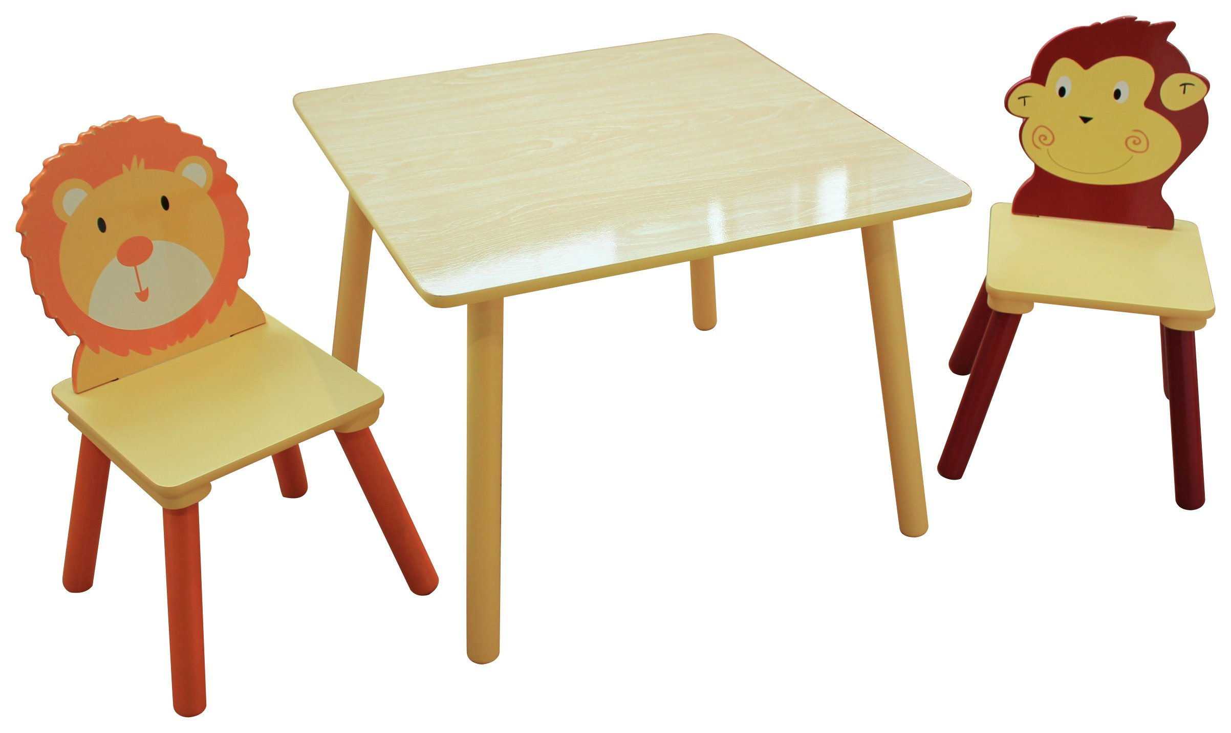 Liberty Houe Jungle Nursery Table and 2 Chairs  sc 1 st  Argos & Children\u0027s tables and chairs   Furniture for kids   Argos