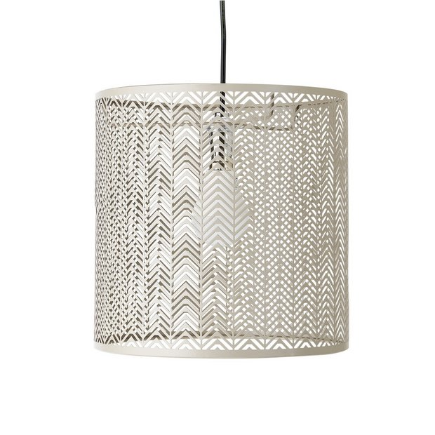 Lamp Shades At Argos: ... more details on Heart of House Arrows Metal Lampshade - Taupe.,Lighting