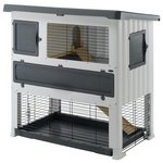 more details on Ferplast Grand Lodge Rabbit/Guinea Pig Plastic Hutch.