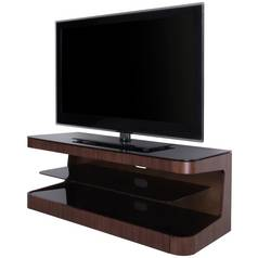 AVF Up to 55 Inch Wood TV Stand - Walnut