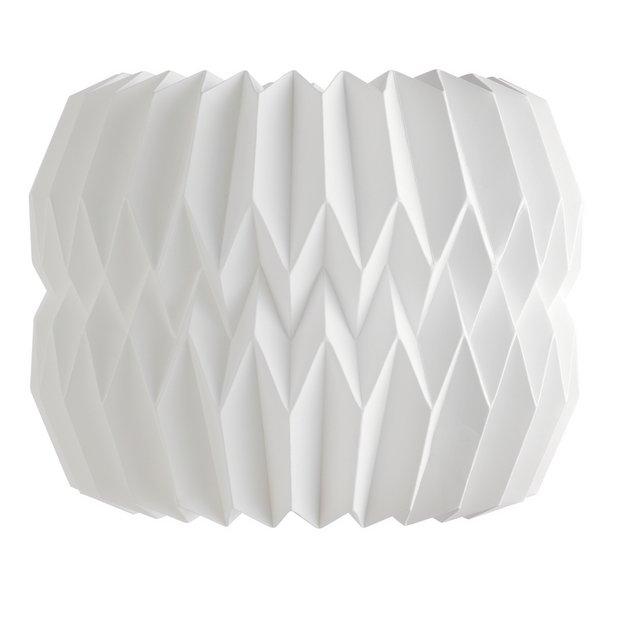 buy habitat kura small 25x20cm paper drum shade at argos. Black Bedroom Furniture Sets. Home Design Ideas