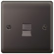 more details on Masterplug Single Master Telephone Socket - Black Nickel.