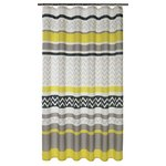 more details on HOME Chevron Shower Curtain - Charcoal and Grey.