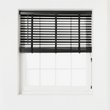 more details on Heart of House Elliott 50mm Wooden Tape Blind - 2ft - Black.