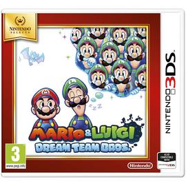 Mario and Luigi: Dream Team Nintendo Selects 3DS Game