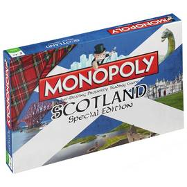 Scotland Monopoly Board Game
