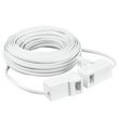 more details on Masterplug 15 Metre Compact, Clear Telephone Extension Kit.