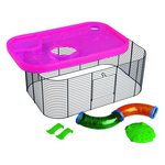 more details on Imac Hamster Fantasy Cage Extension.