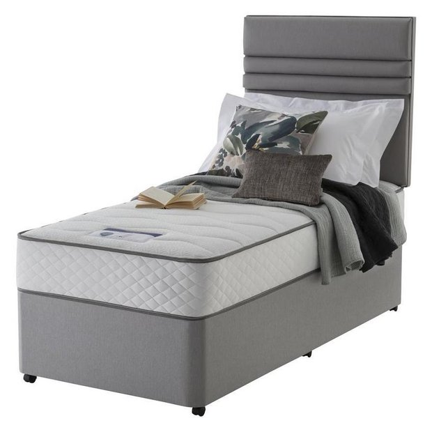 Buy silentnight levison 1000 luxury single divan at your online shop for divan Argos single divan beds
