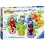more details on Teletubbies 4 In 1 Shaped Puzzle.