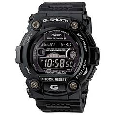 Casio G-Shock Men's Black Resin Radio Controlled Solar Watch