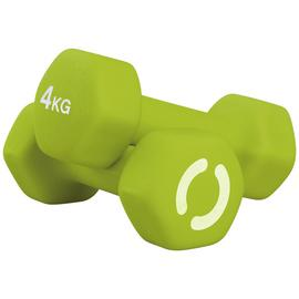Opti Neoprene Dumbbell Set - 2 x 4kg
